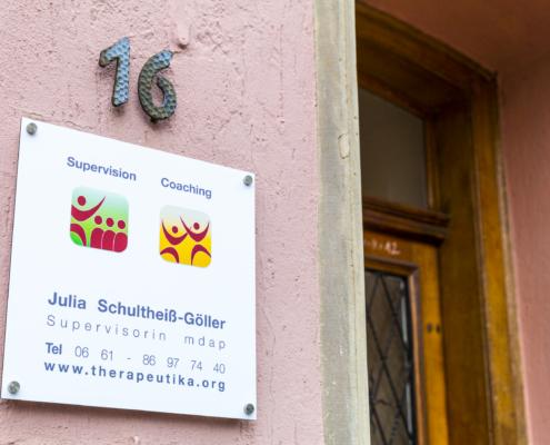 Praxis von Julia Schultheiss-Goeller - Supervision, Coaching Anlässe